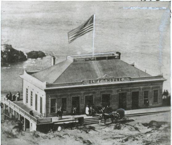 Original Cliff House 1863