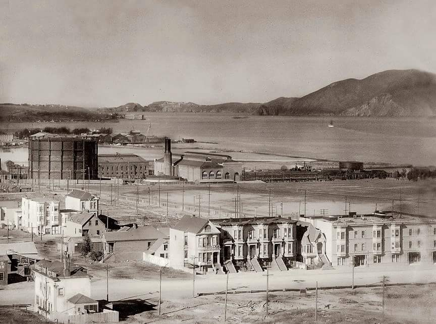 1915 Fair ground area after fill/before construction