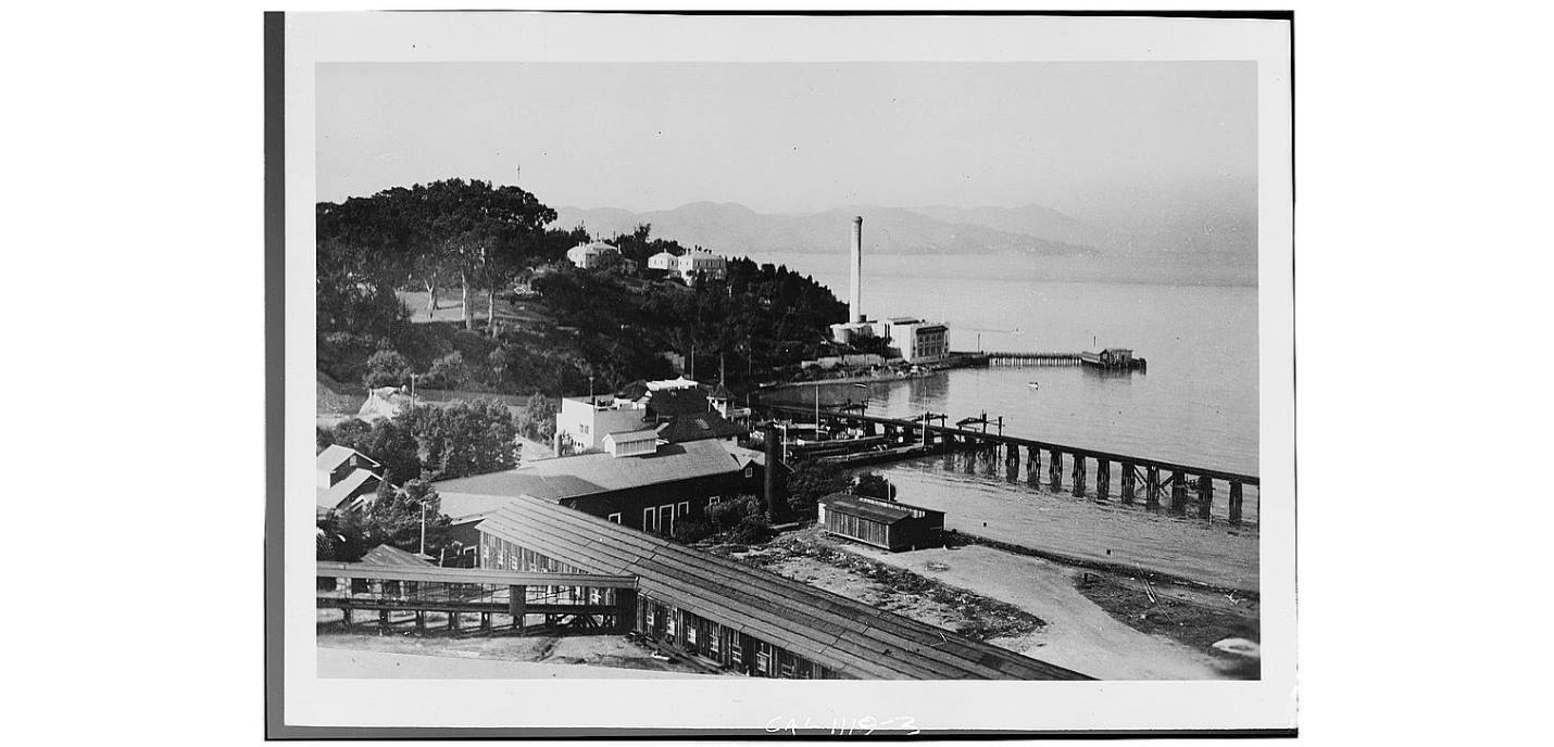 Last of the Wool Mills, Bath Houses, and Selby Lead & Silver Smelting Plant at Black Point