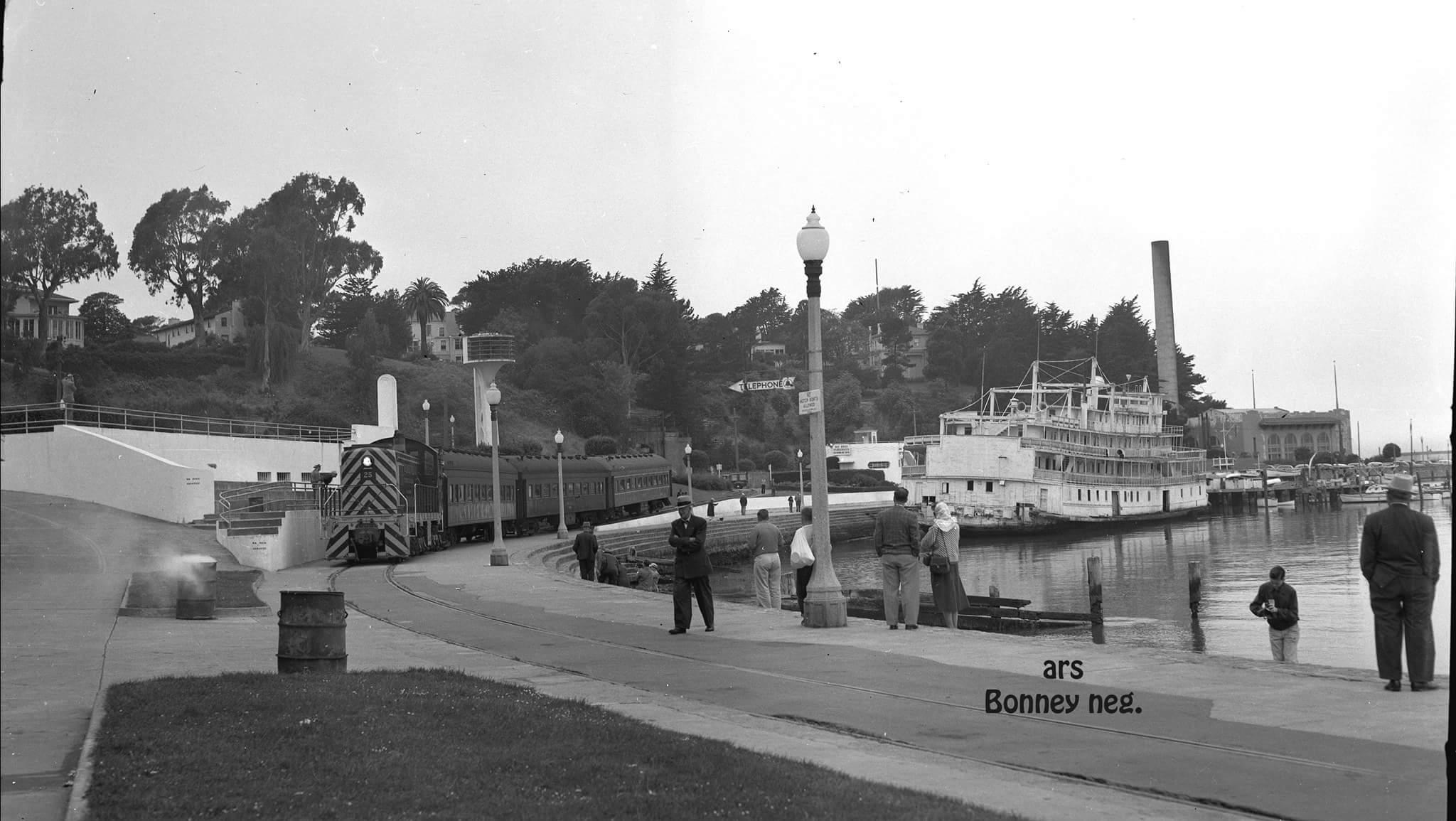 Belt Rail Road 1956 at Aquatic Park