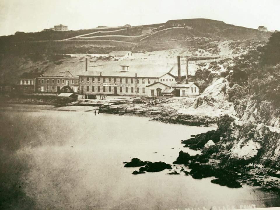 Pioneer Woolen Mills in 1862