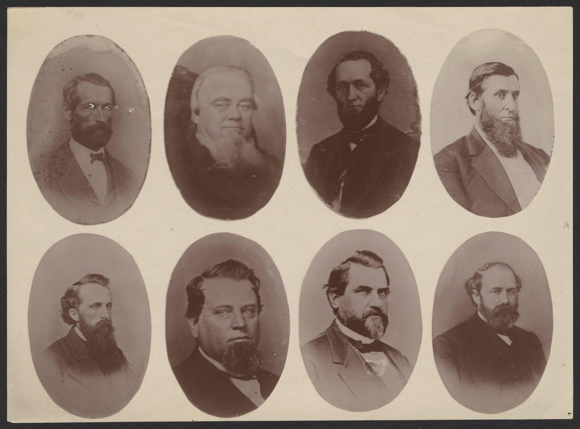 Hopkins, Crocker, Redding, Miller, Montague, Crocker, Stanford, Huntington
