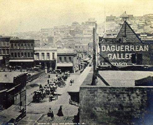 Brown's Hotel on left. 1861