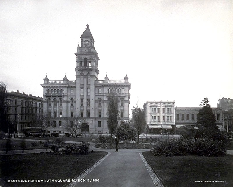 Hall of Justice March 1906