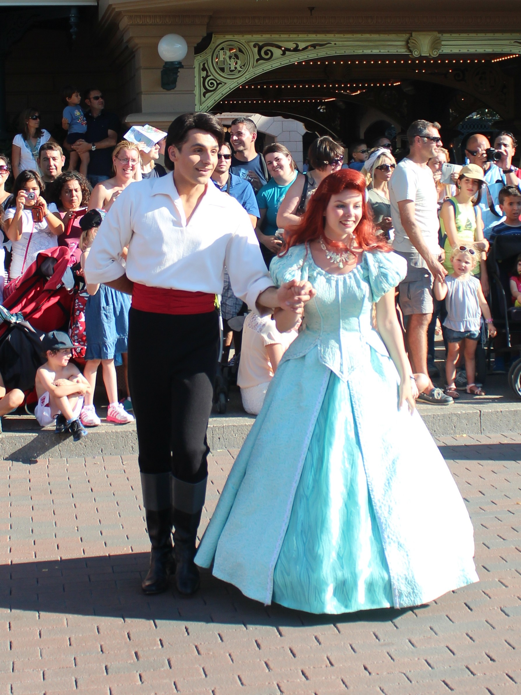 Ariel & Eric Disney Paris