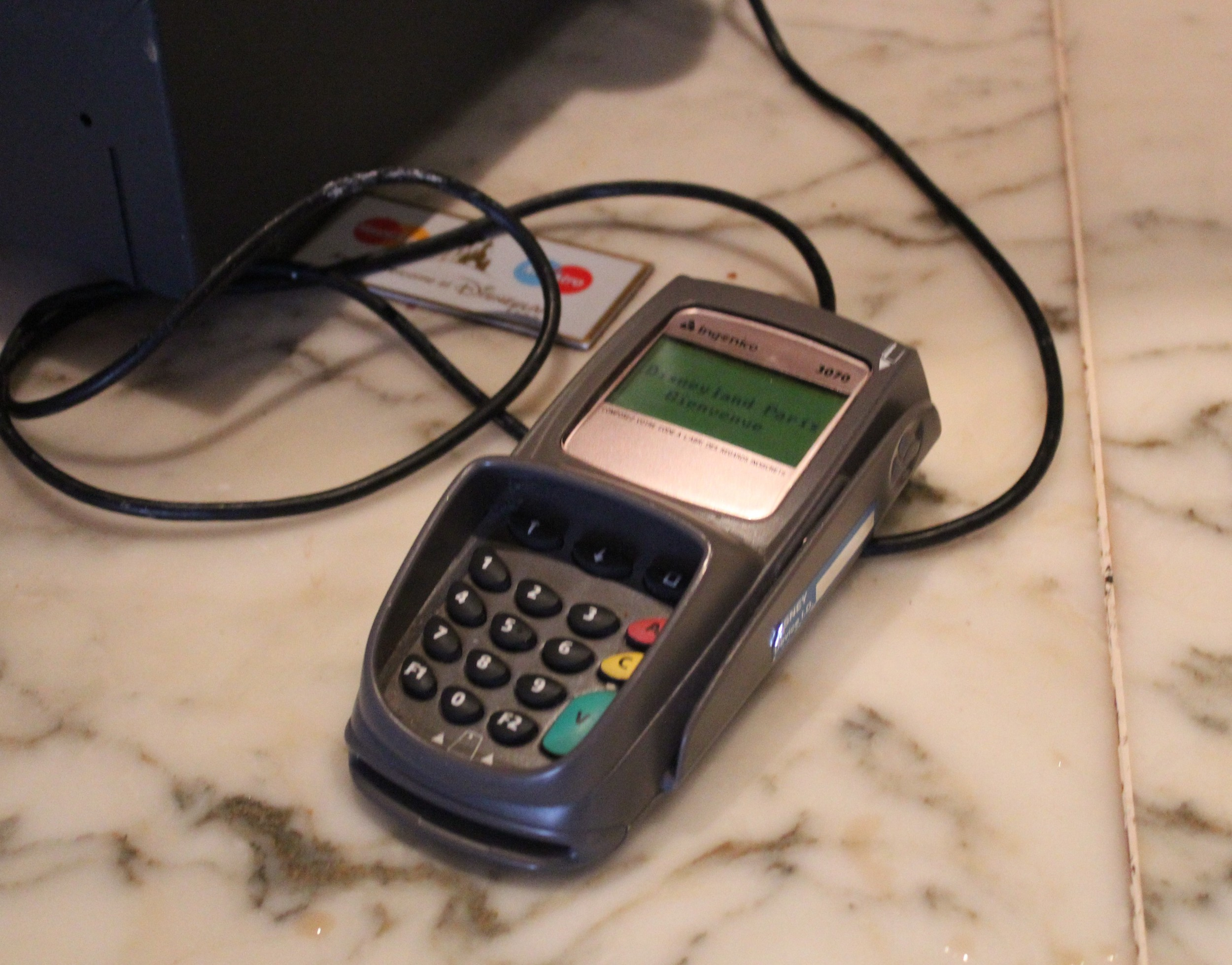 European Credit Card Machine
