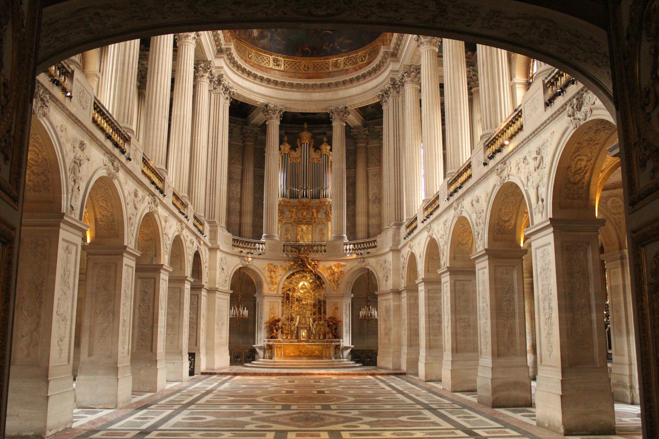 Church at Versailles Palace