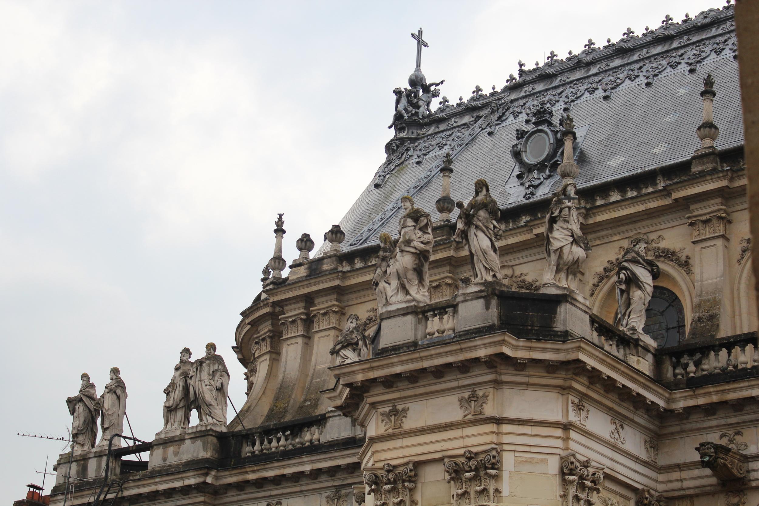 Roof of Versailles