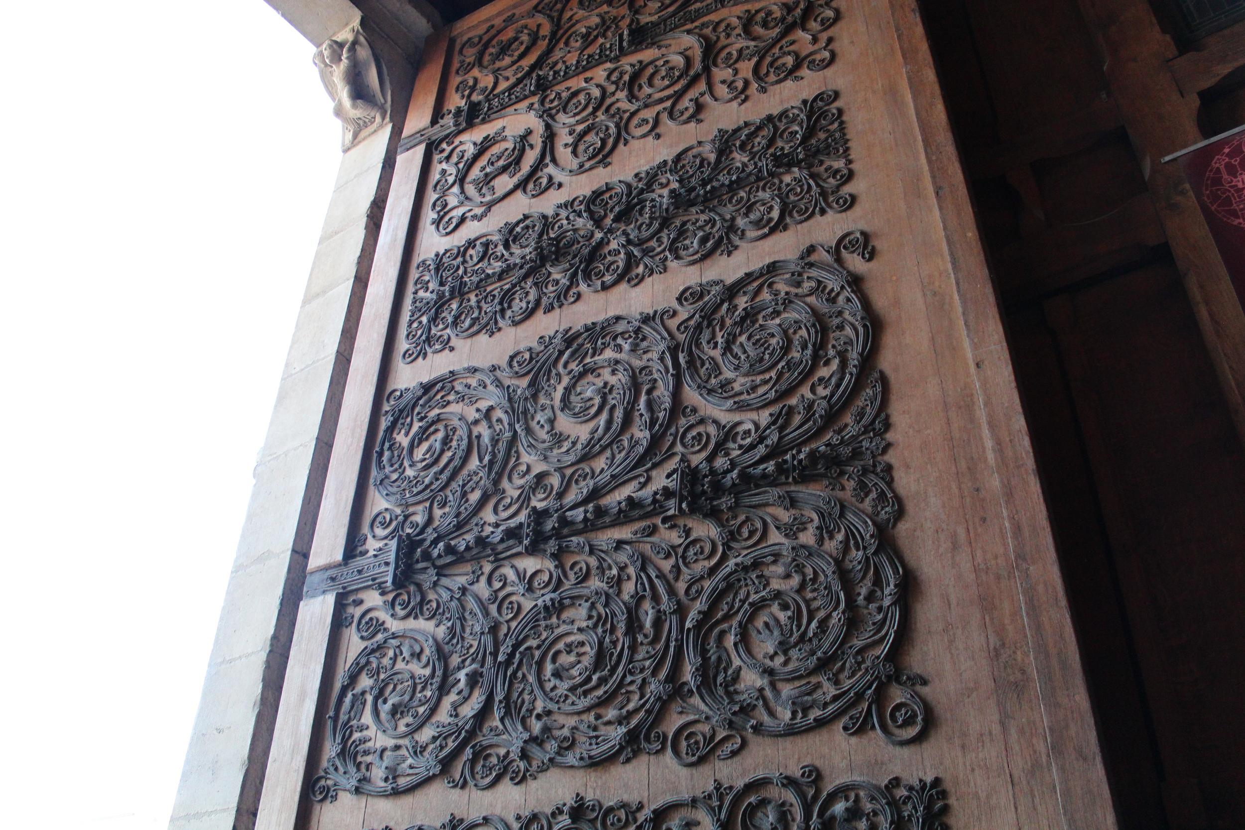 Doors at Notre Dame