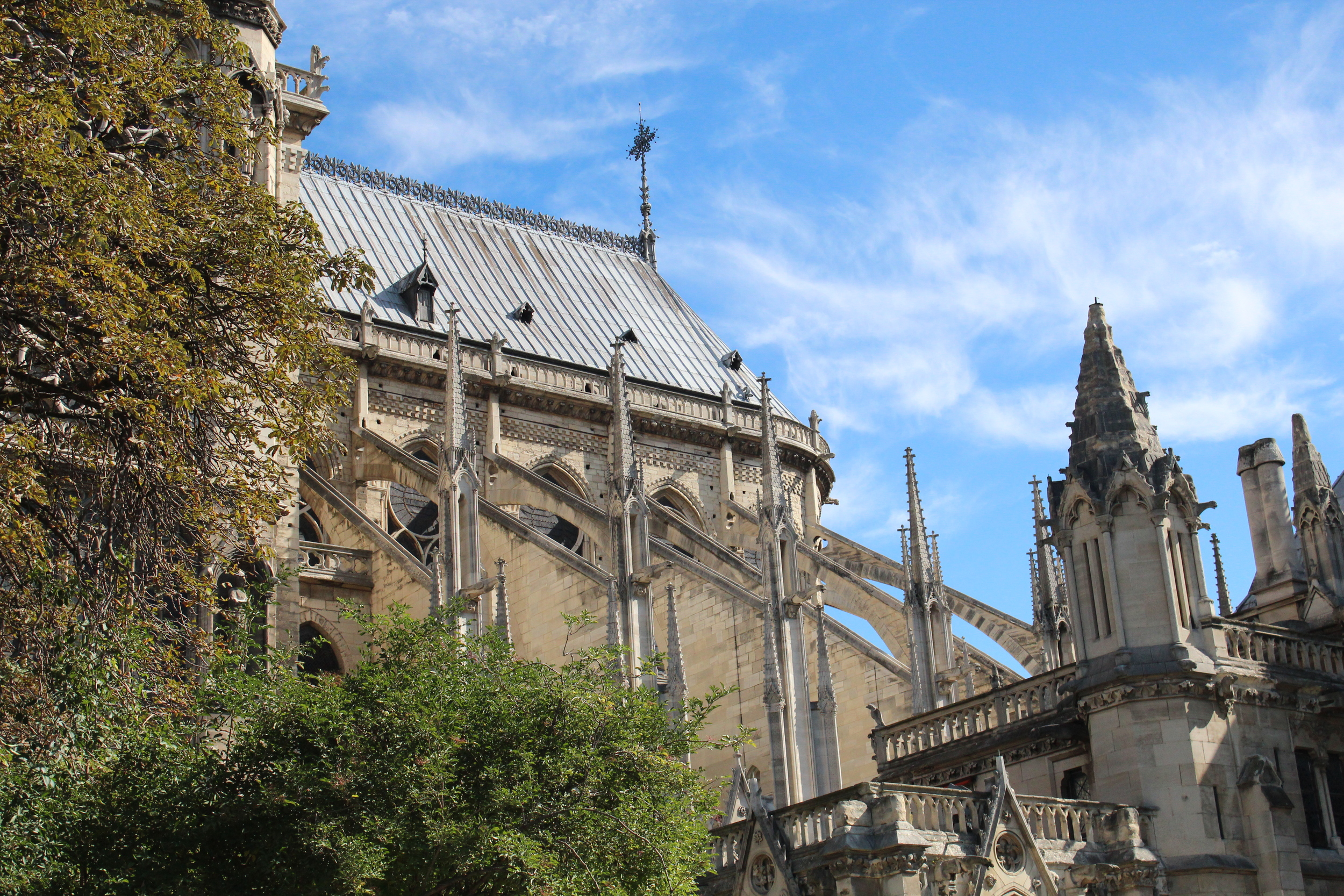 Flying Buttresses Notre Dame