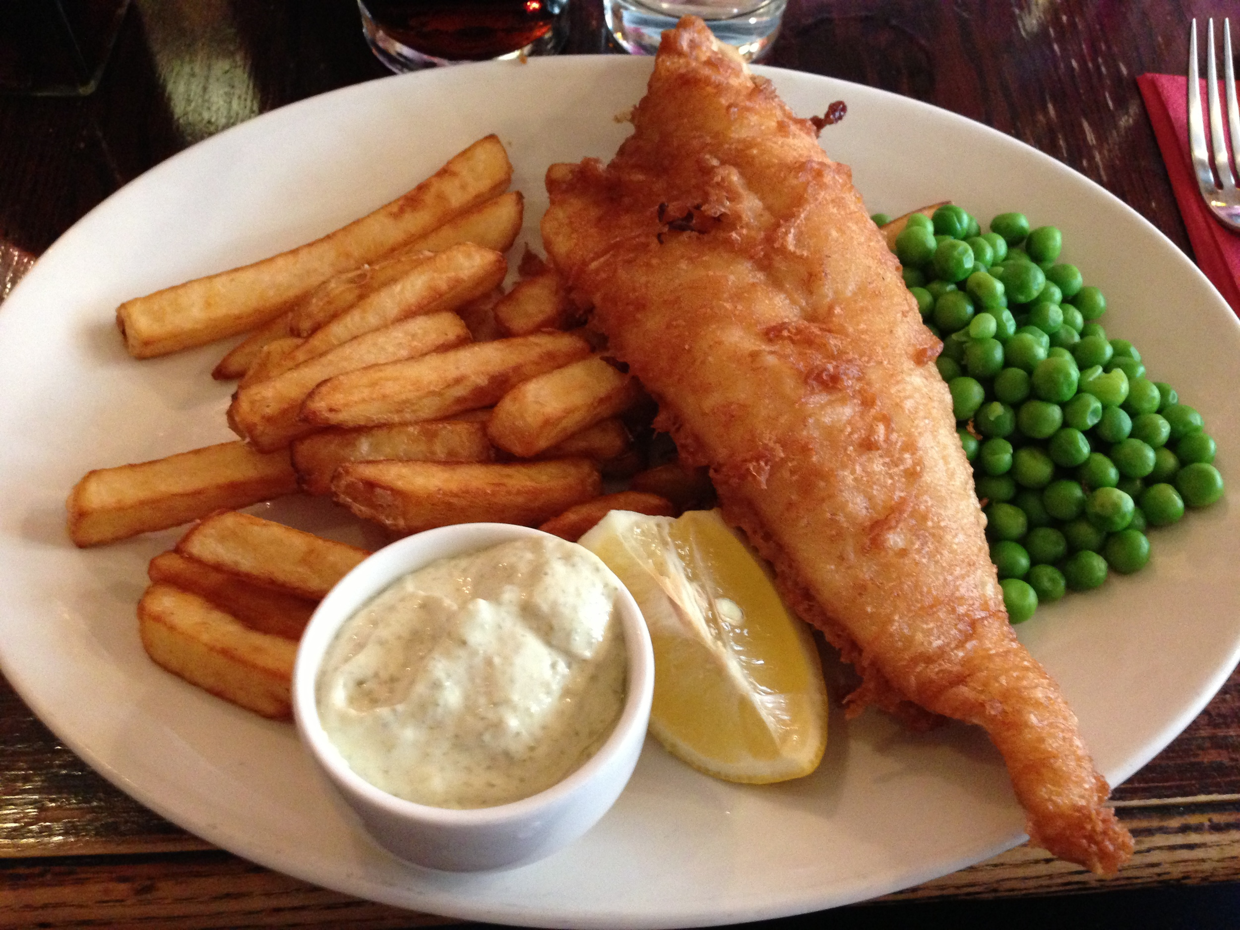 Red Lion Pub Fish & Chips
