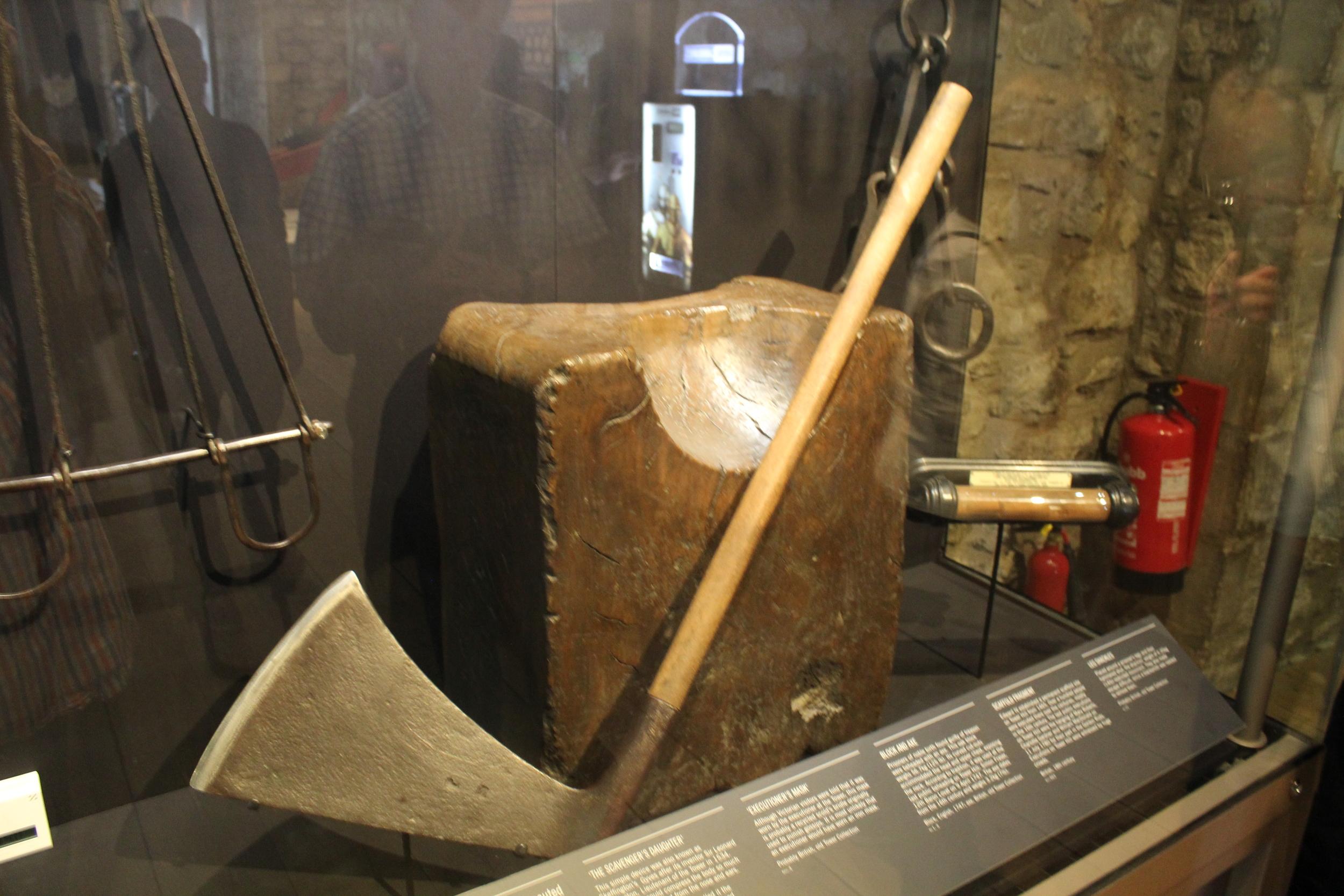 Chopping Block Tower of London