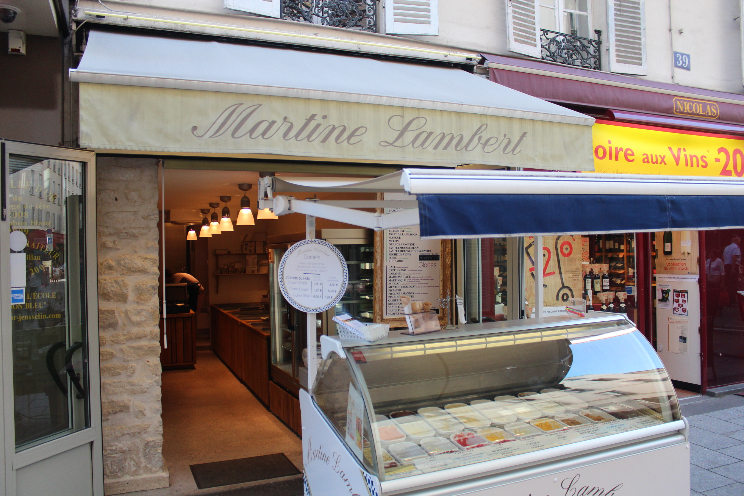 Gelato Rue Cler Martine Lambert