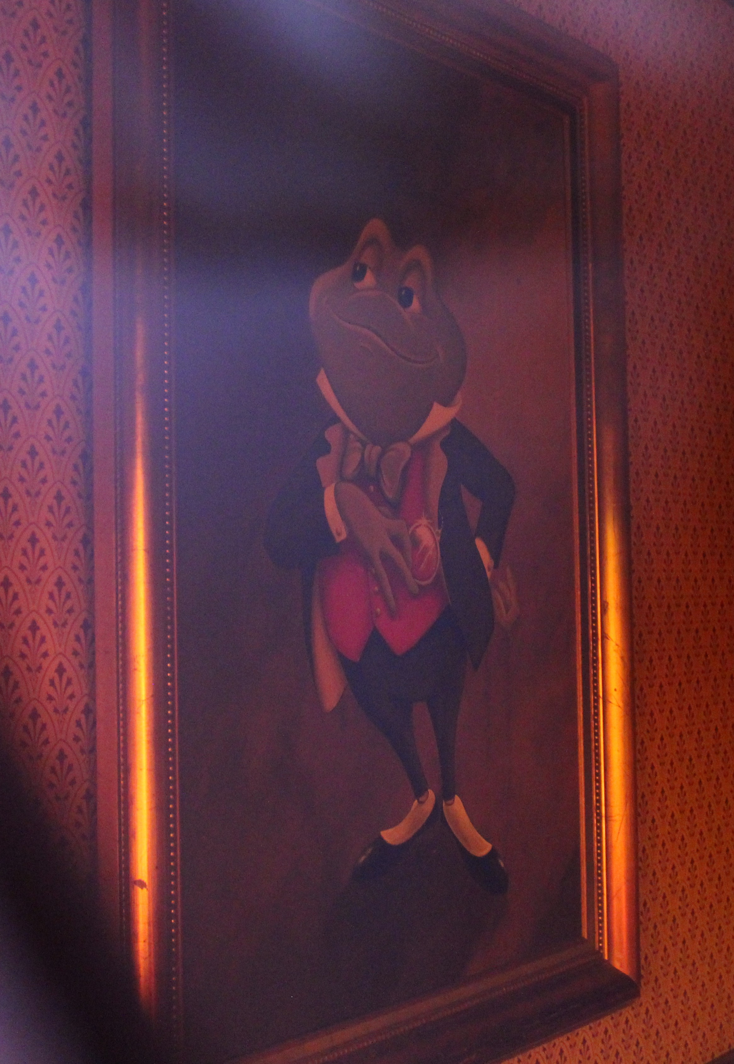 Mr Toad portrait Disneyland Paris