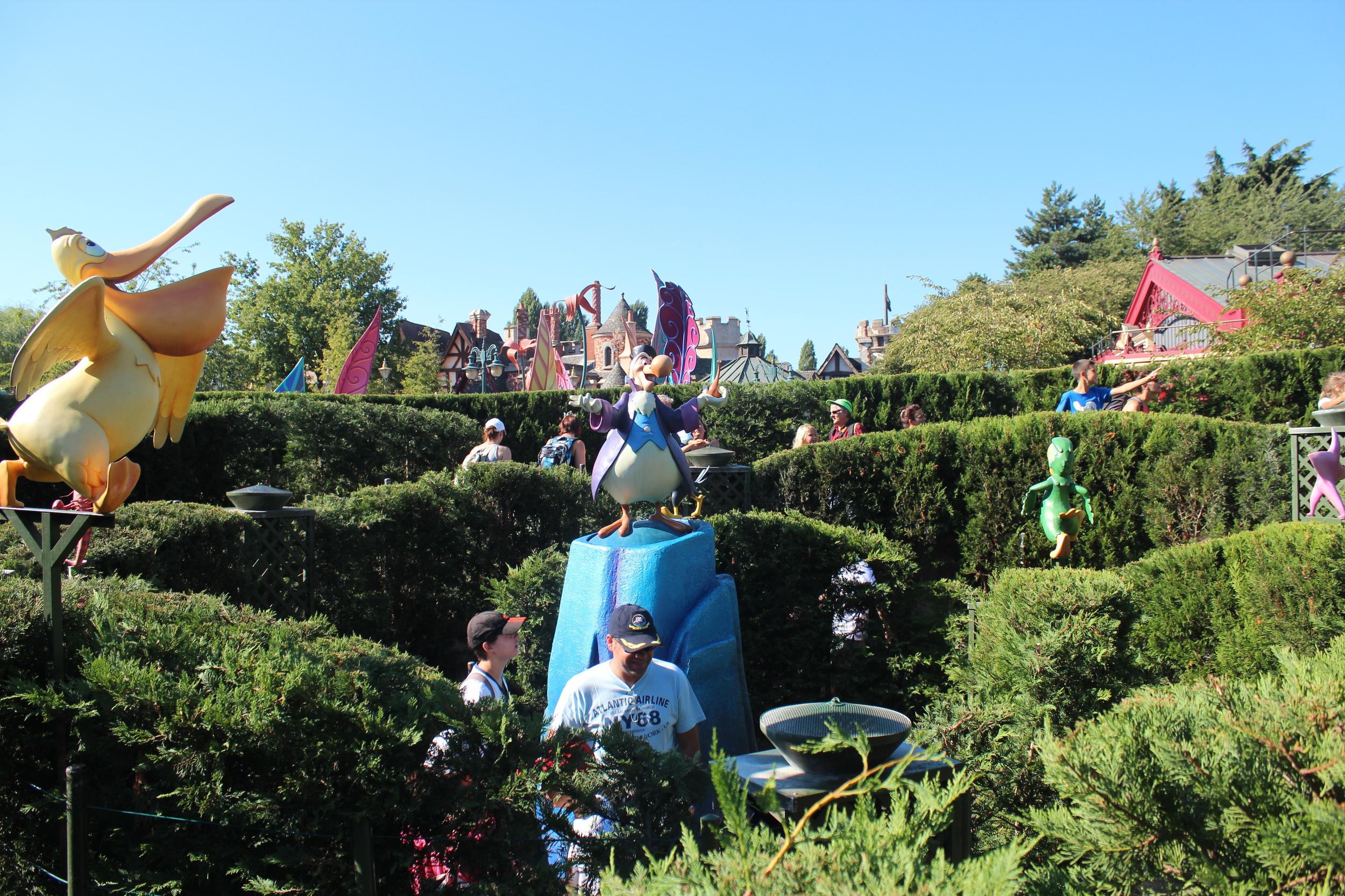 The Labyrinth Disneyland Paris