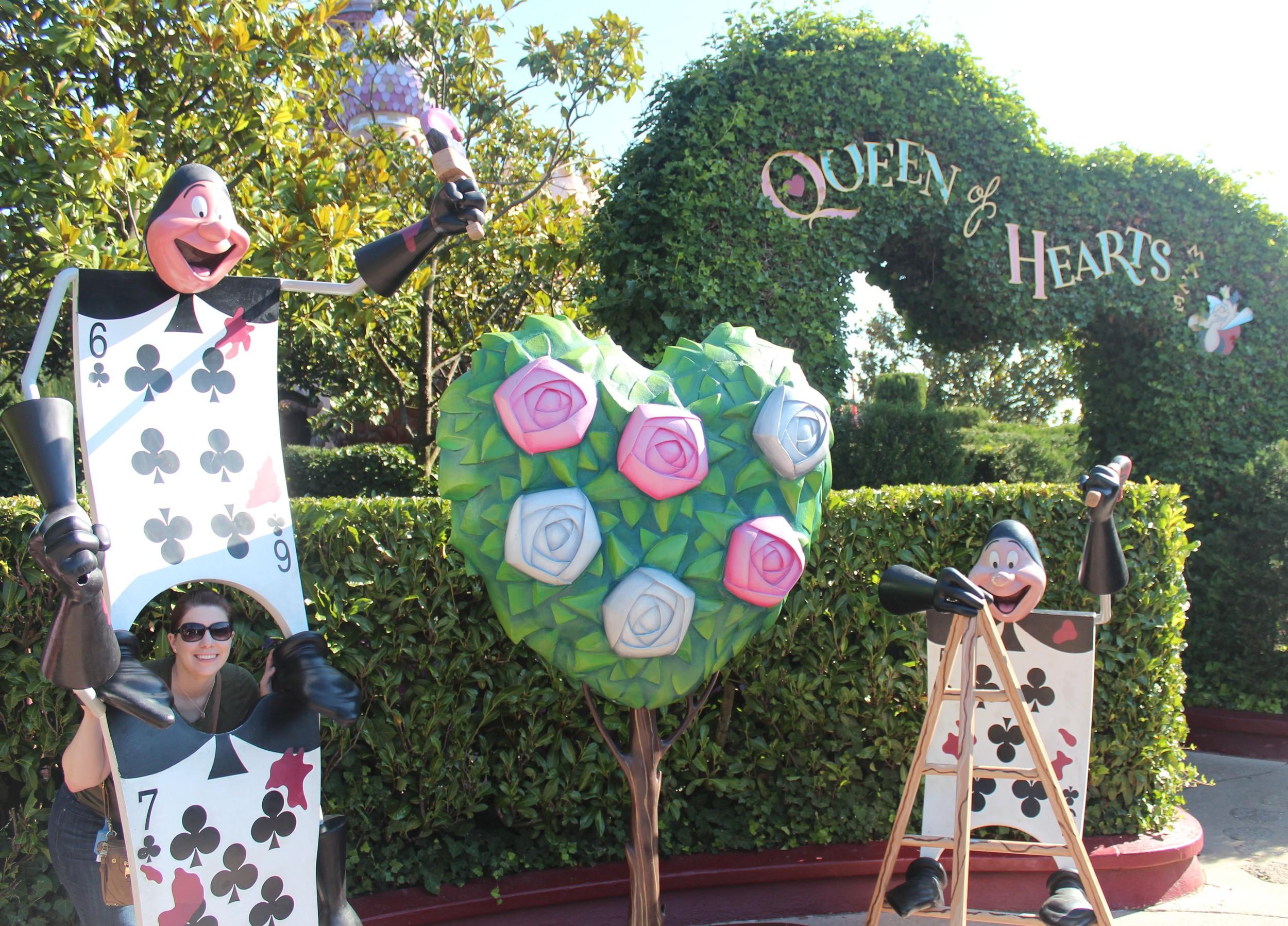 Queen of Hearts Disneyland Paris