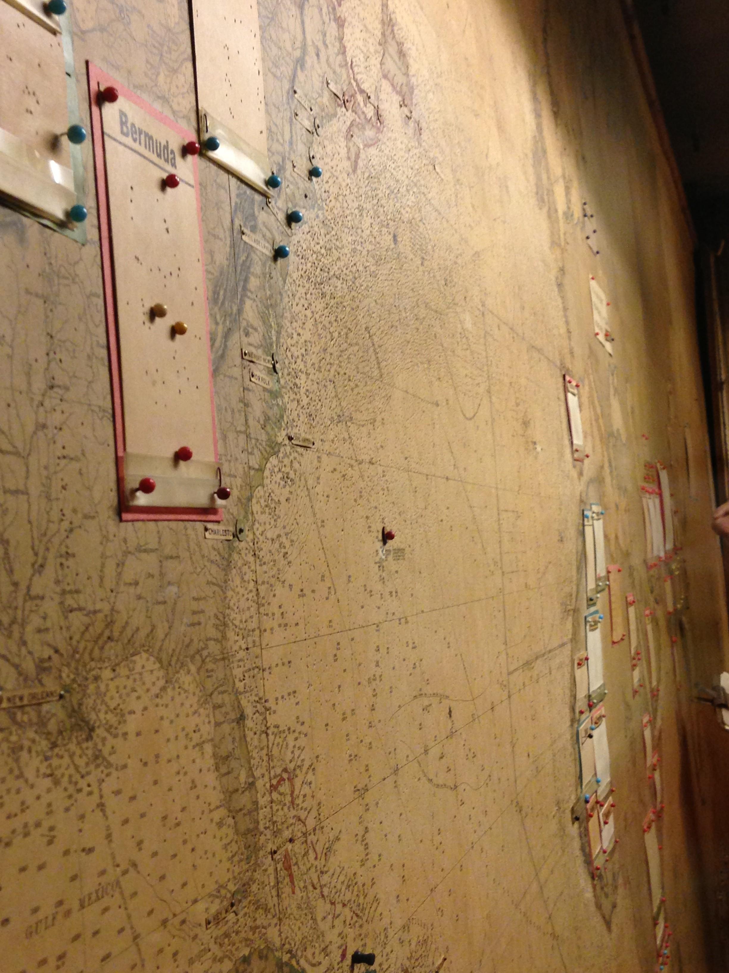 Churchill War Room Map