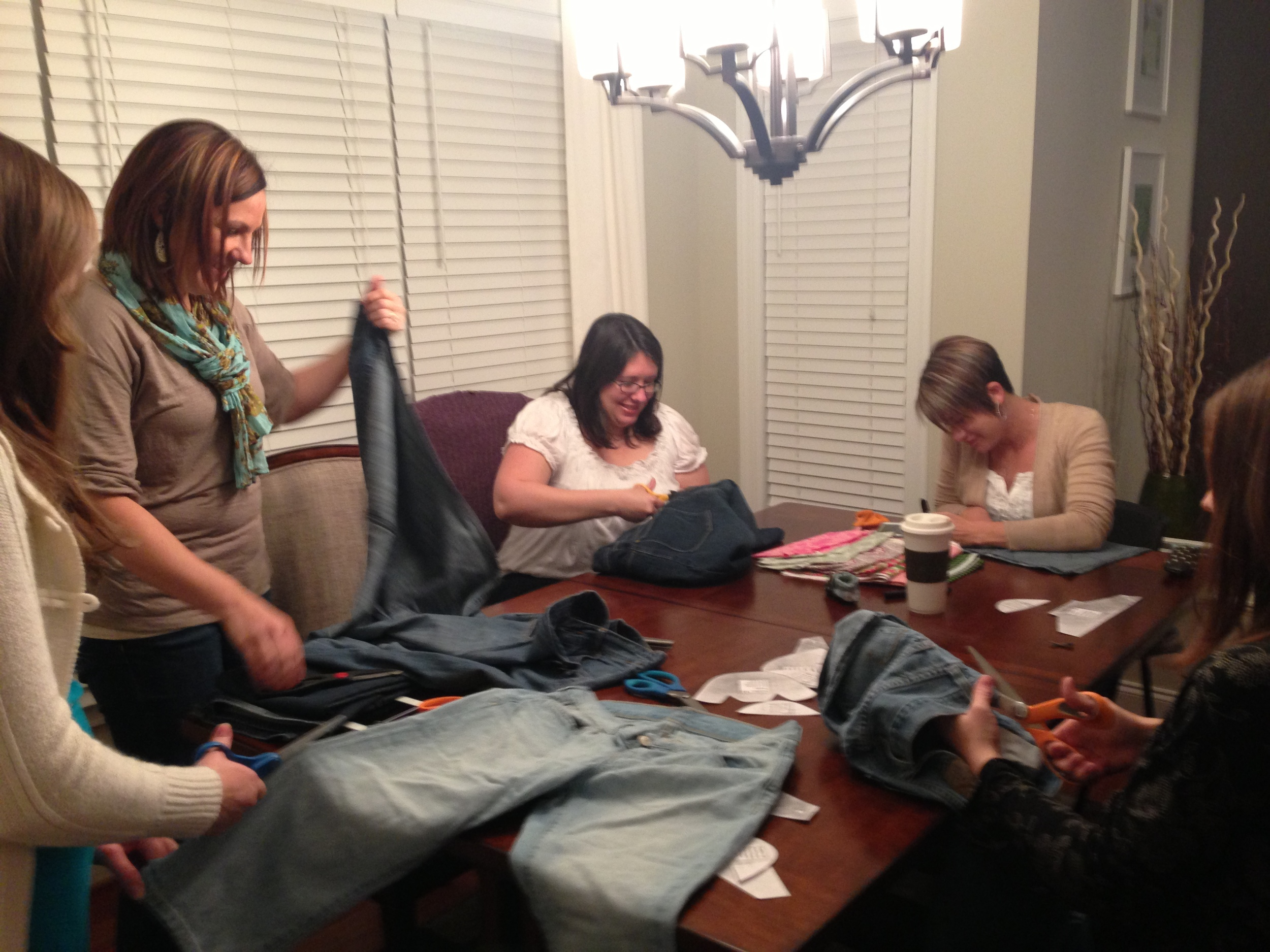Shoe cutting party