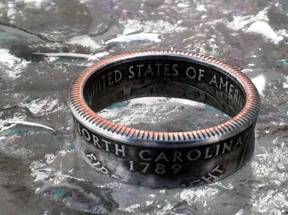 Photo used with permission of Custom Coin Rings