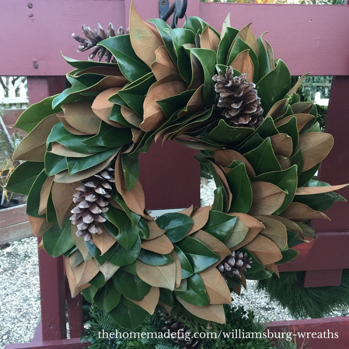 Another magnolia wreath (I'm partial to the name of course!) for good measure - I love the simplicity of it!