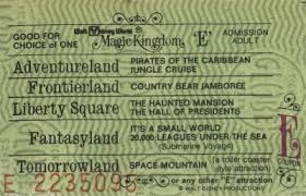 Look how easy the tickets used to be!