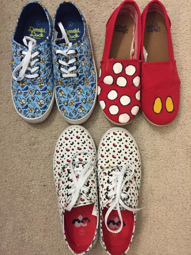 DIY Mickey shoes & Target Disney sneakers!