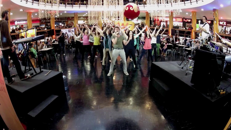 Flashmob tributo a Queen