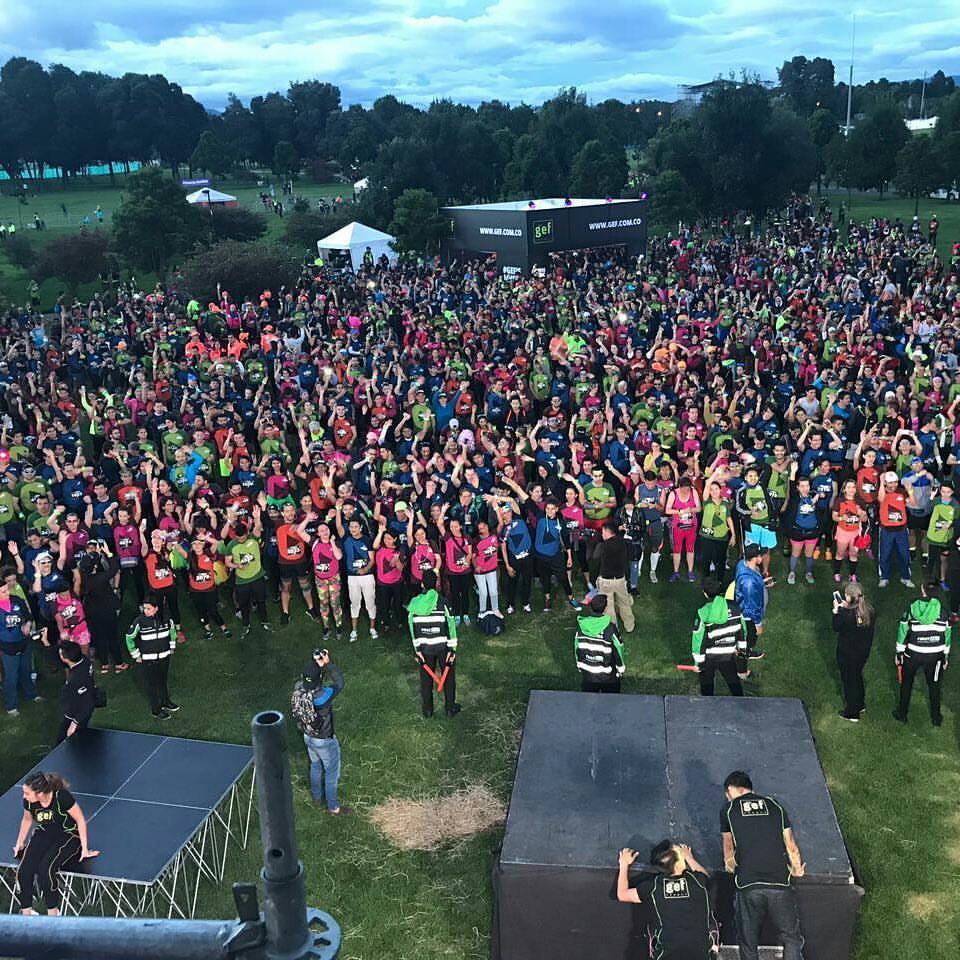 Activación de Marca - Gef Music Night Run Fest 2017
