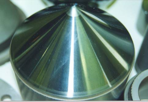 Superfinishing on a Conical surface