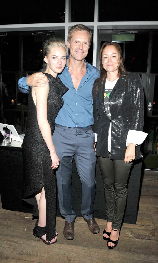 Georgia Lazzaro, Malcolm Carfrae & Julie Anne Quay