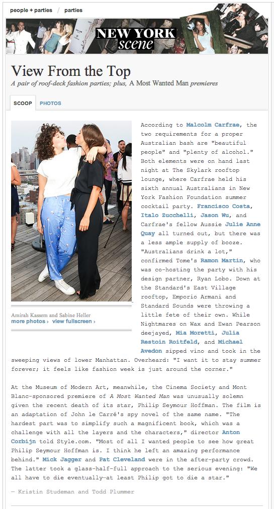 STYLE.COM  | July 2014