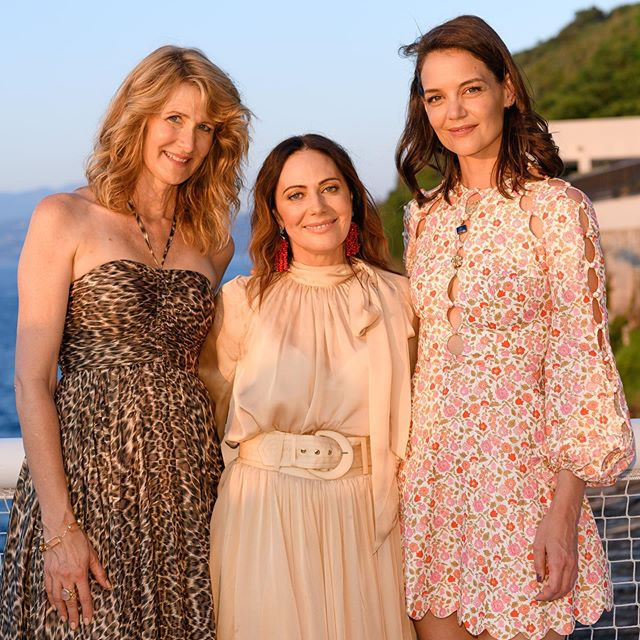 @zimmermann dropped the mic in Capri this week with a two day event attended by many prominent Aussies in fashion - and @katieholmes212 and @lauradern