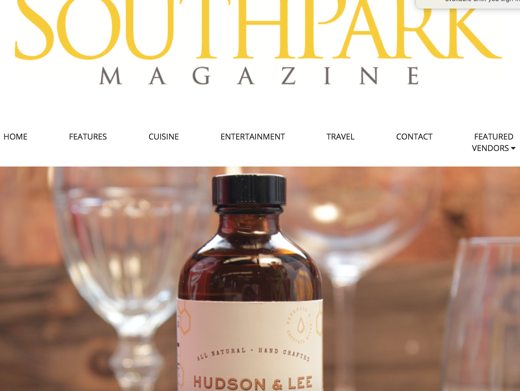 We are featured in the July edition of South Park Magazine!