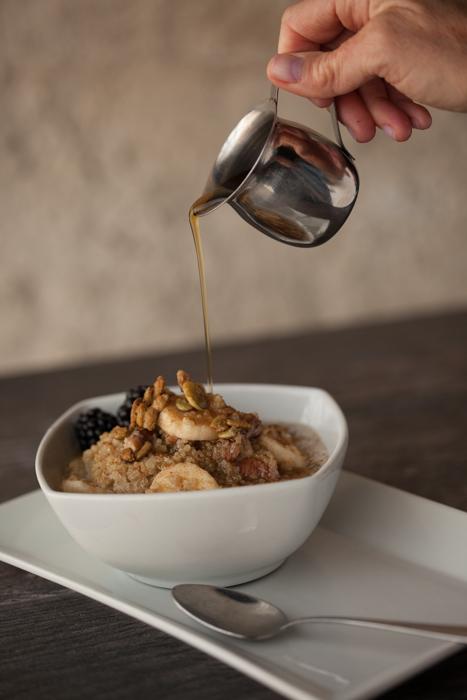 organic quinoa cereal zest