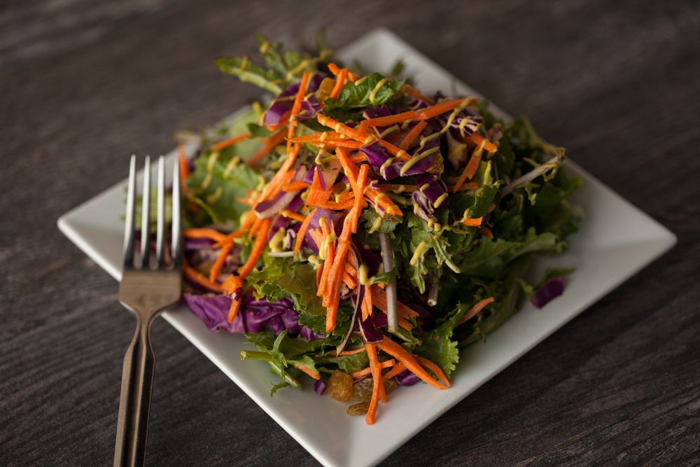 zest fresh kale salad