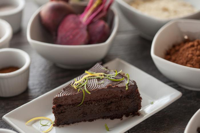chocoate beet cake