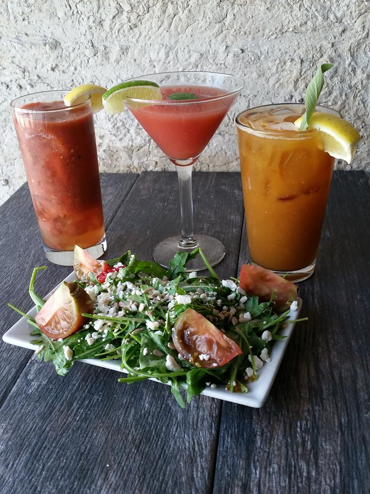 zest bar & kitchen bloody marys