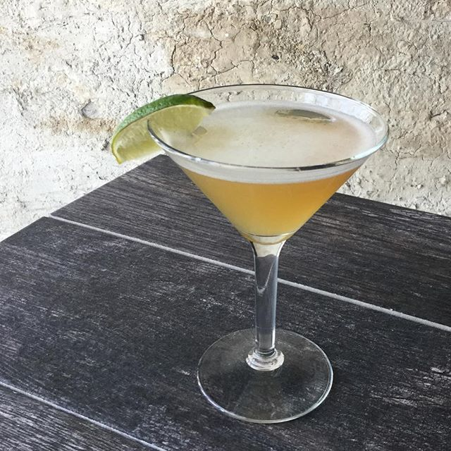 5 year rum, spanish vermouth and fresh lime; meet me at zest with this daiquiri #tuesdays #slcdrinks #chillslc