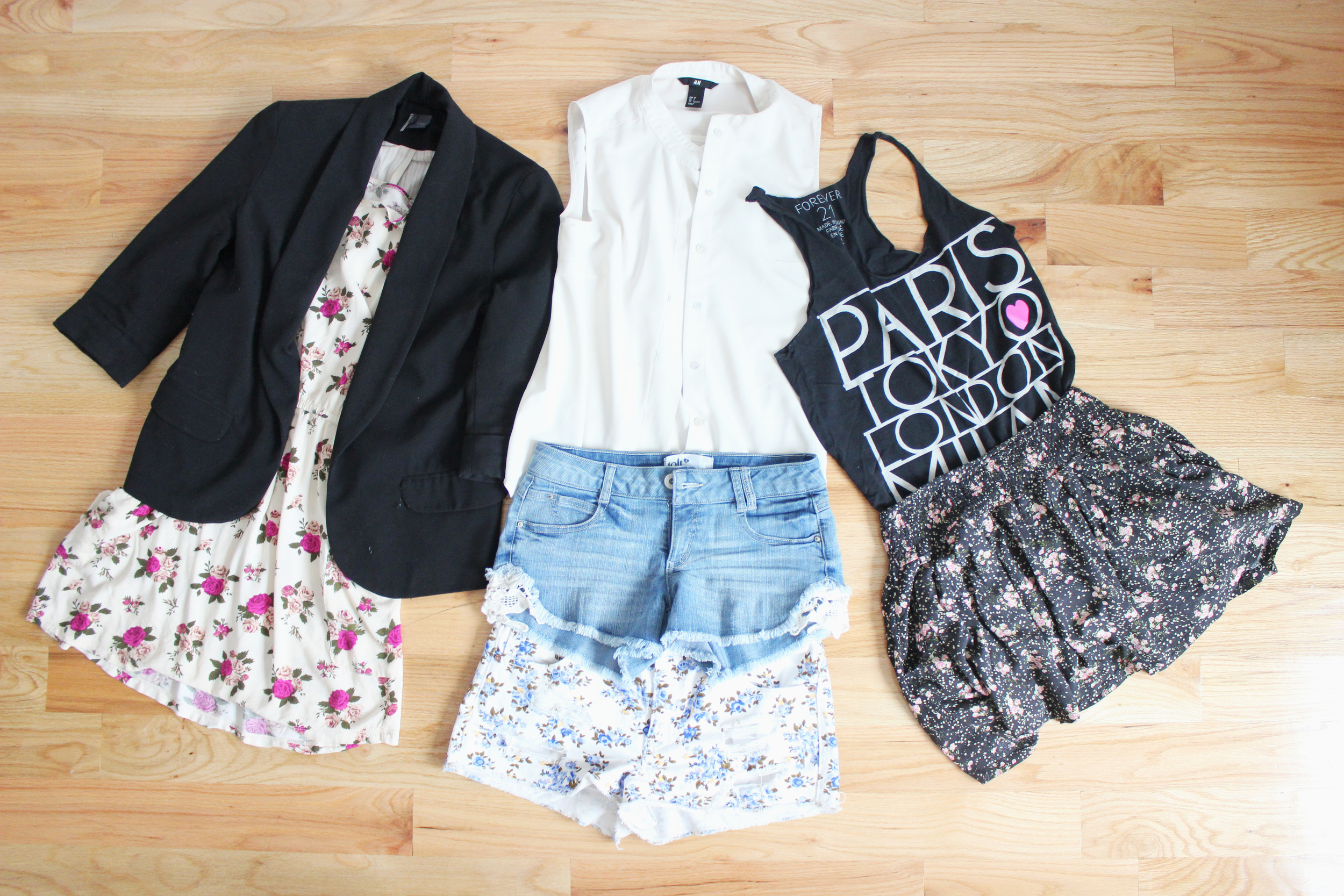 Outfits to mix and match