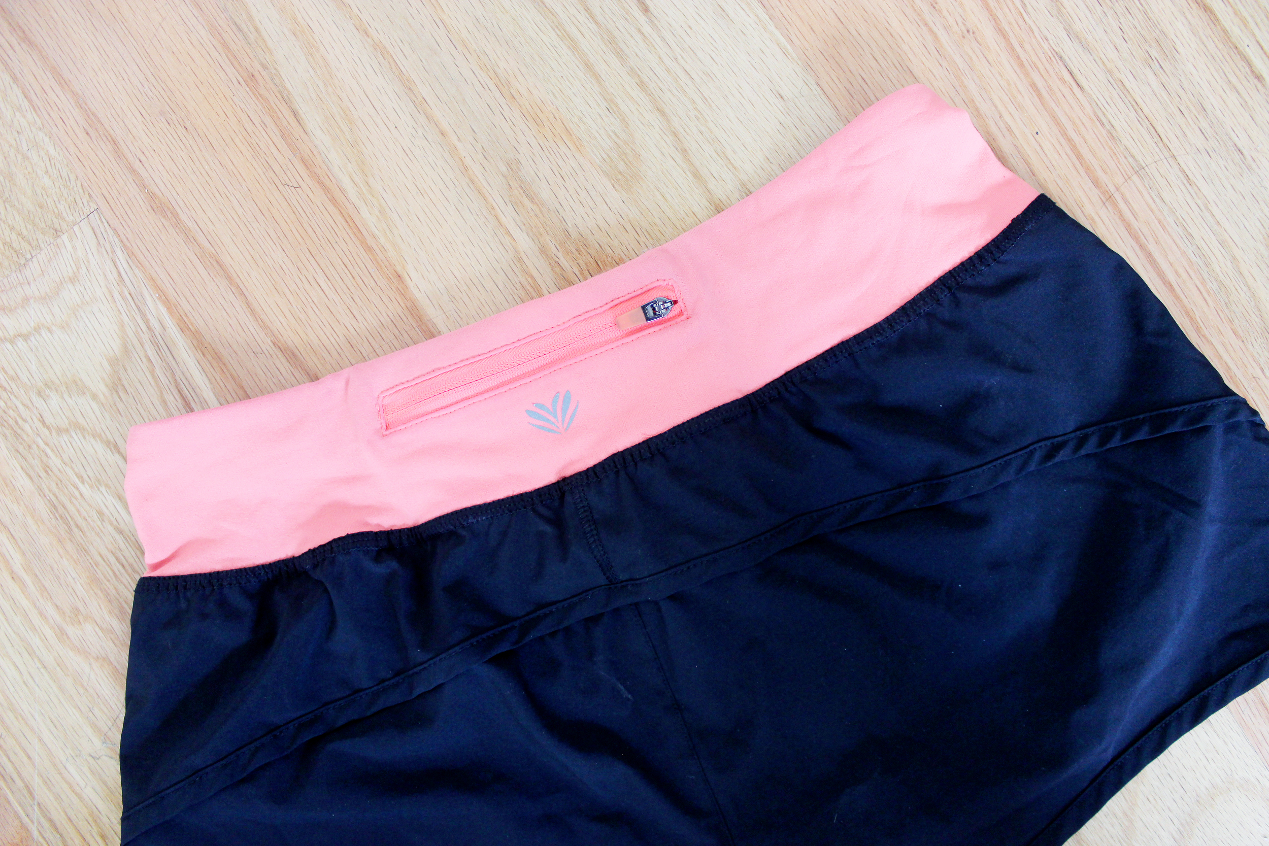 That one zipper makes a world of difference in these running shorts.