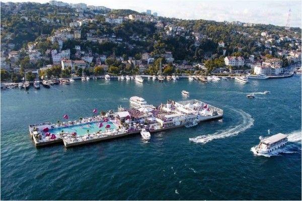 Suada Day Club on Galatasaray Island (Source:  Pinterest  )