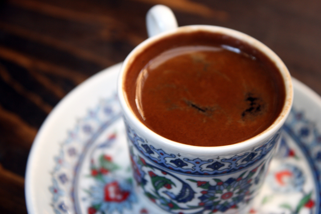 Turkish Coffee in Istanbul (Source:  Flickr  )