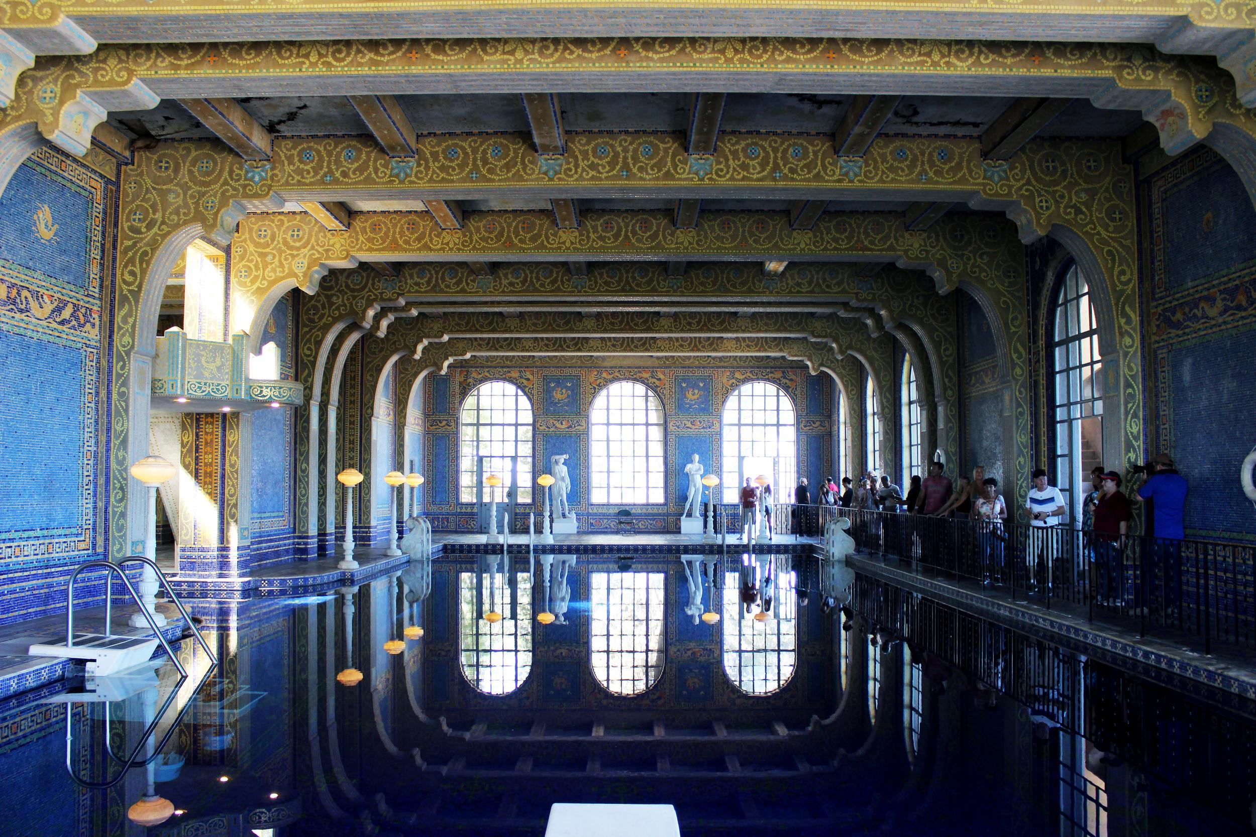 Roman Pool at Heart Castle