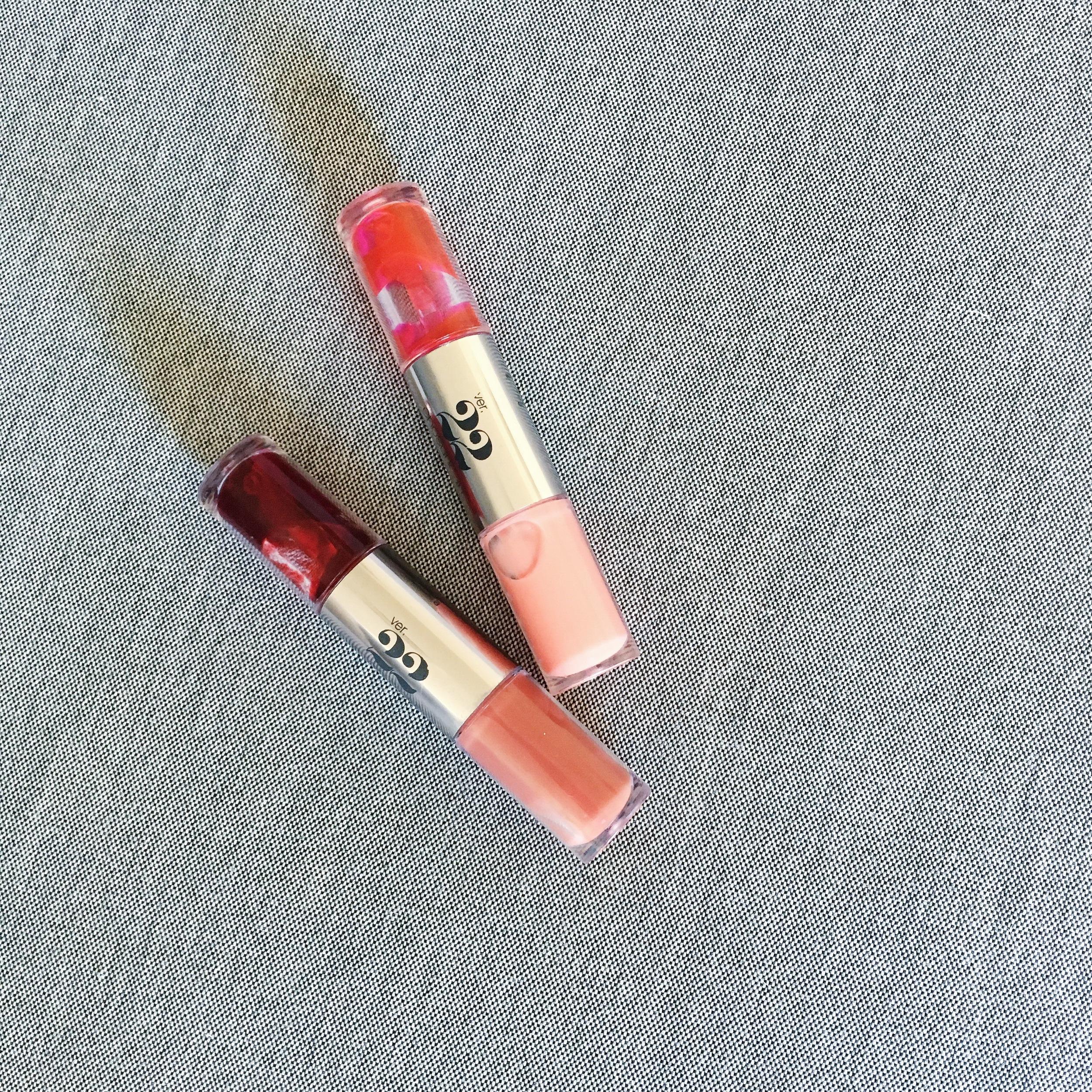 Chosungah lip tints:Cashmere and Chiffon
