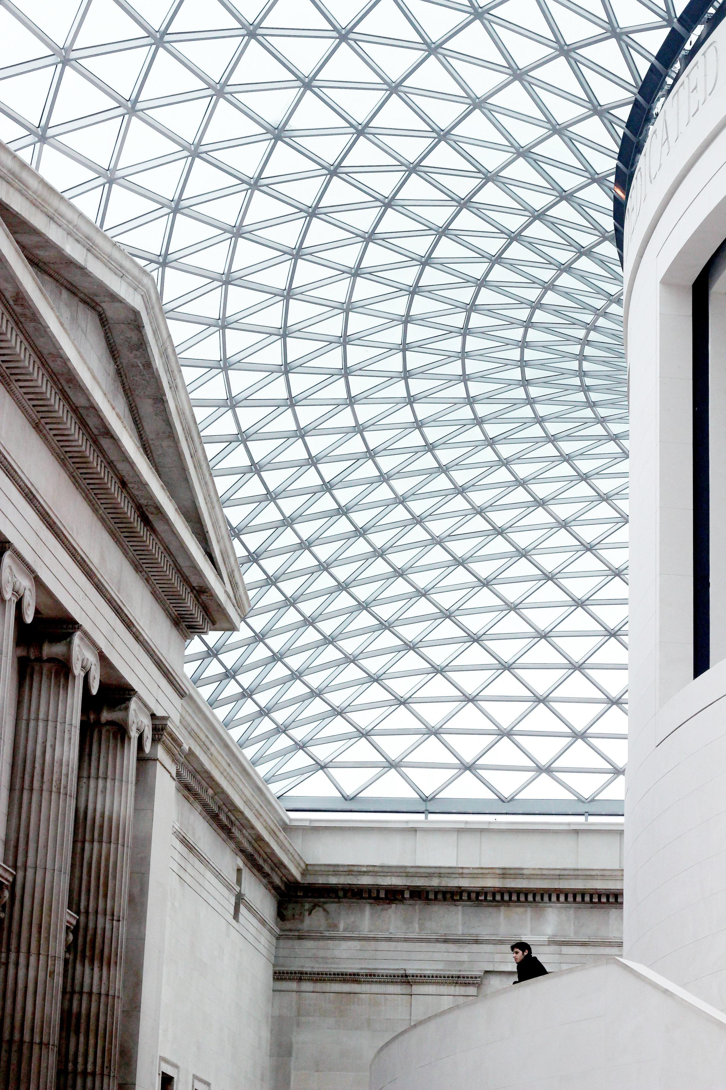 Mattia at the   British Museum