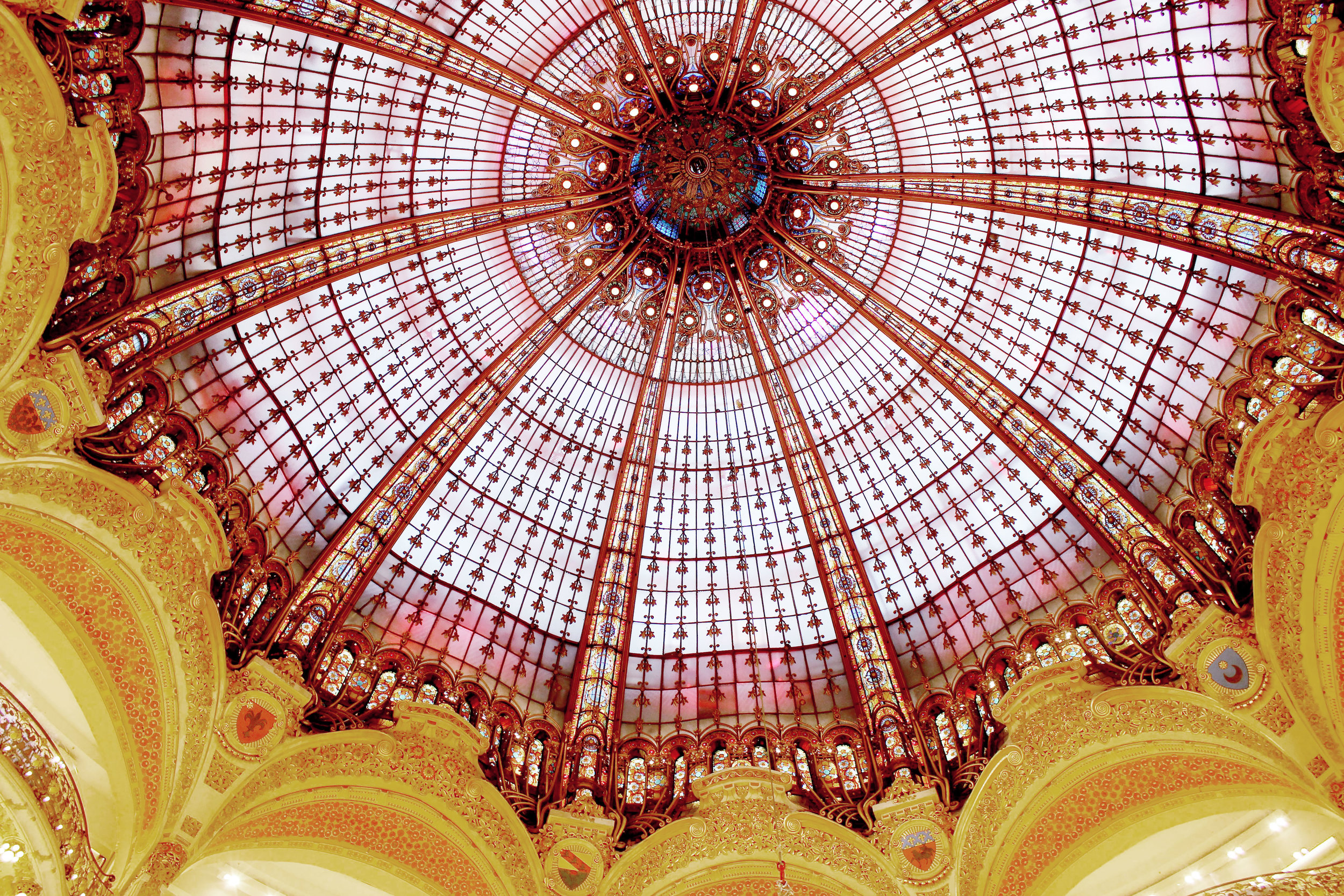 Stunning detail at Galleries Lafayette