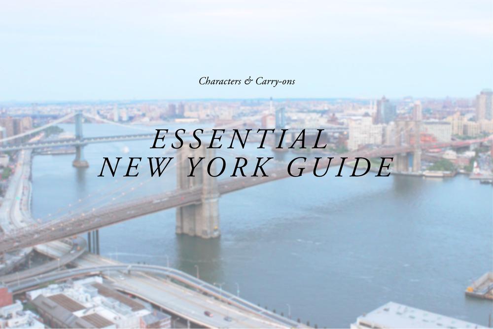 ESSENTIAL NEW YORK GUIDE