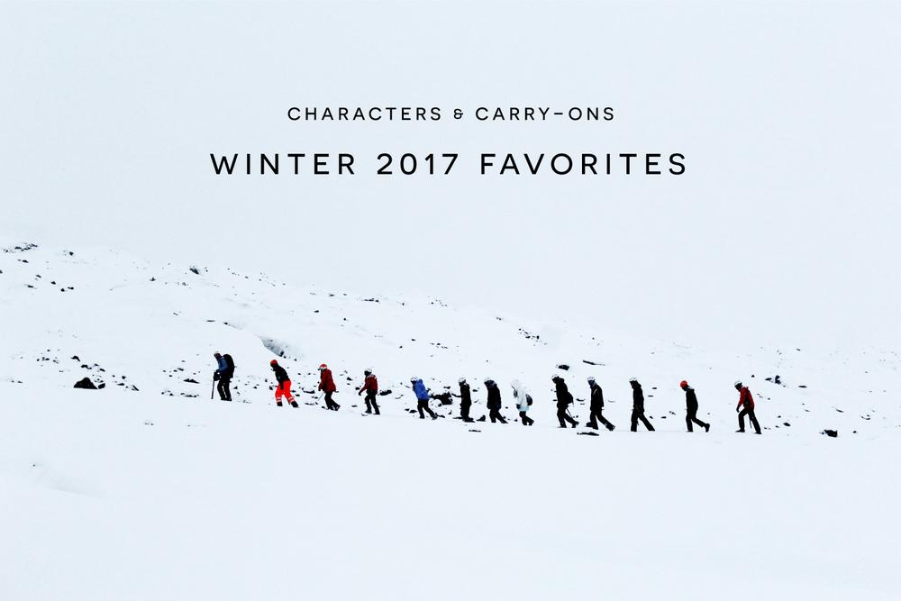 Winter 2017 Favorites