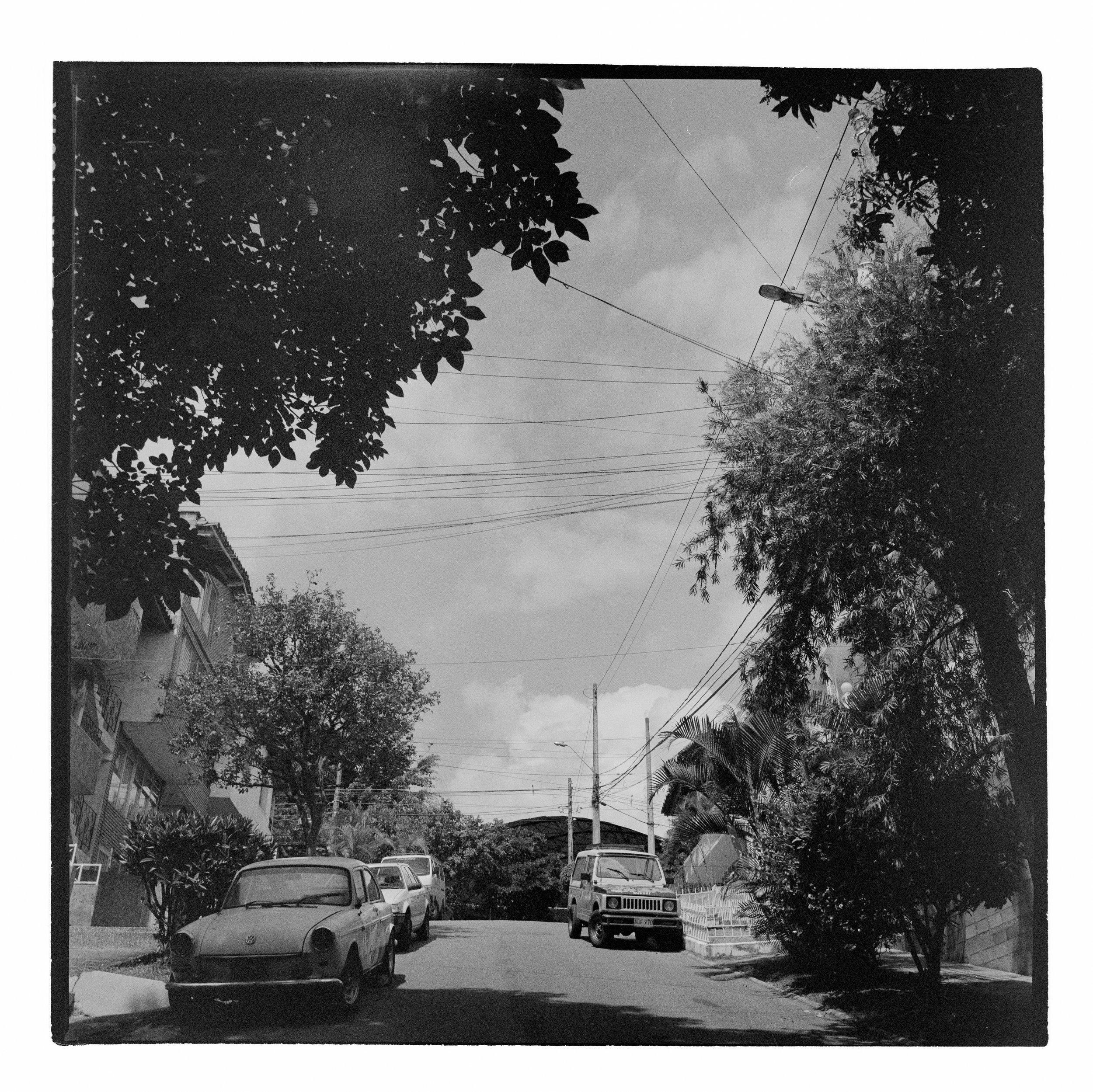 the street where my tio walter lives..