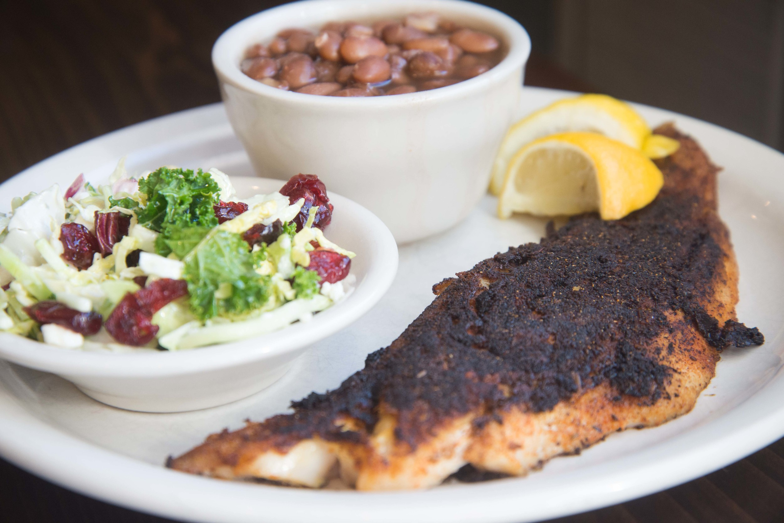 Blackened Trout Fillet